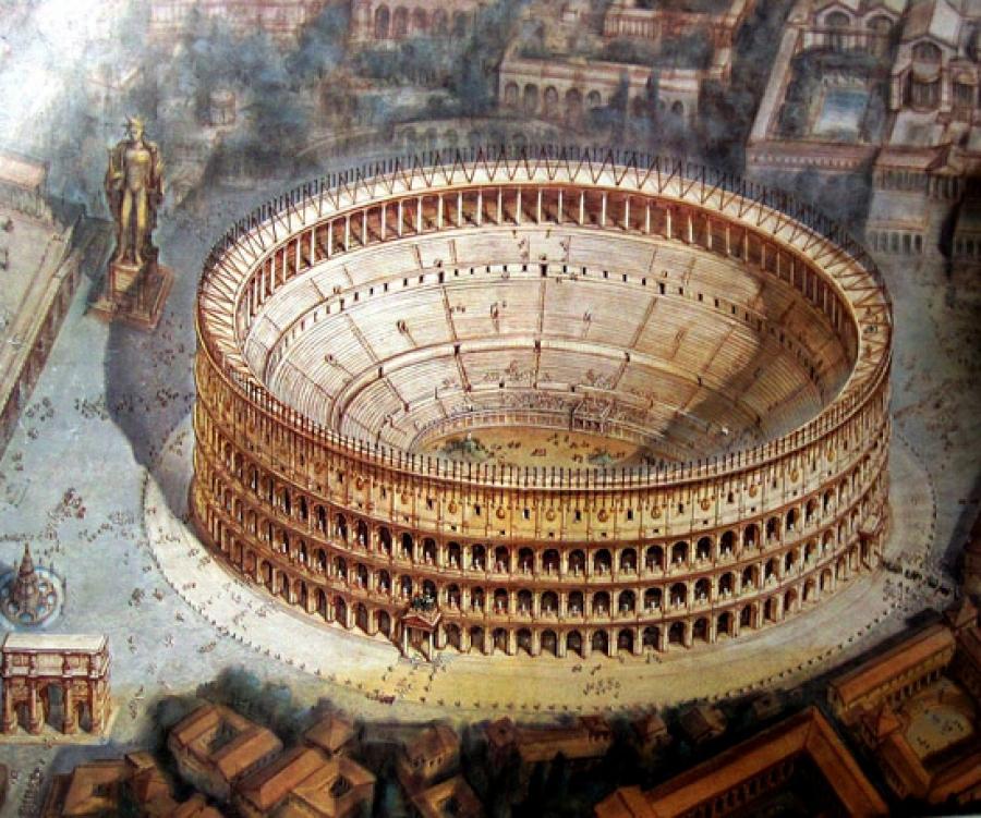 Il Colosseo Il Naufragio Del Mondo Antico E Del Contemporaneo